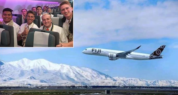 COVID-19: Fiji Airways Flies Freight from USA, Flies Missionaries Home