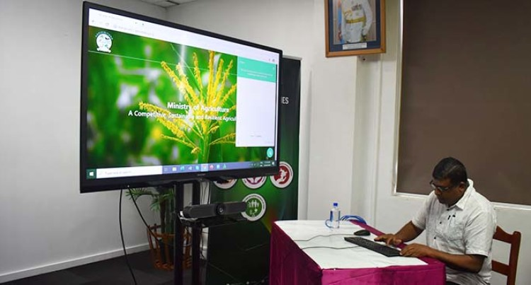 Agriculture Ministry Launches Website