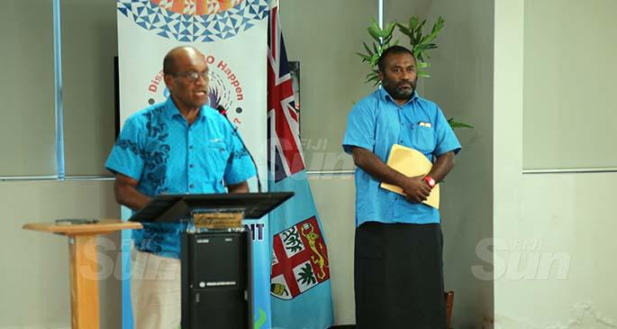 Minister Jone Usamate