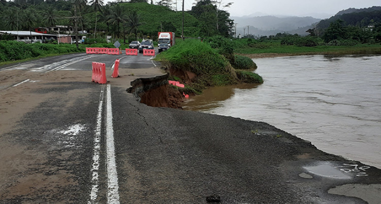 Cyclone Harold: Landslide, Flood in Waimanu, Wailoku