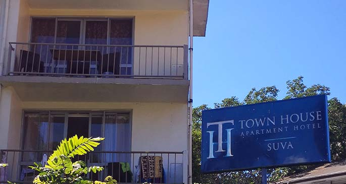 Town House Apartments.