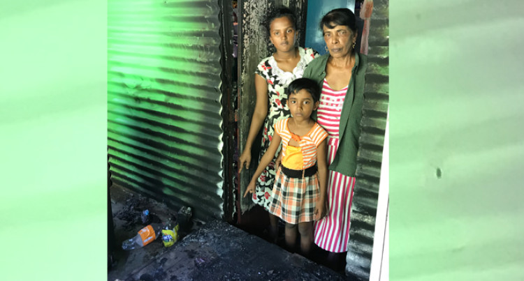 Heroine Granny Saves Granddaughters, Husband From Fire