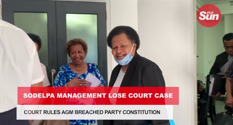 Court Rules SODELPA AGM Breached Party Constitution