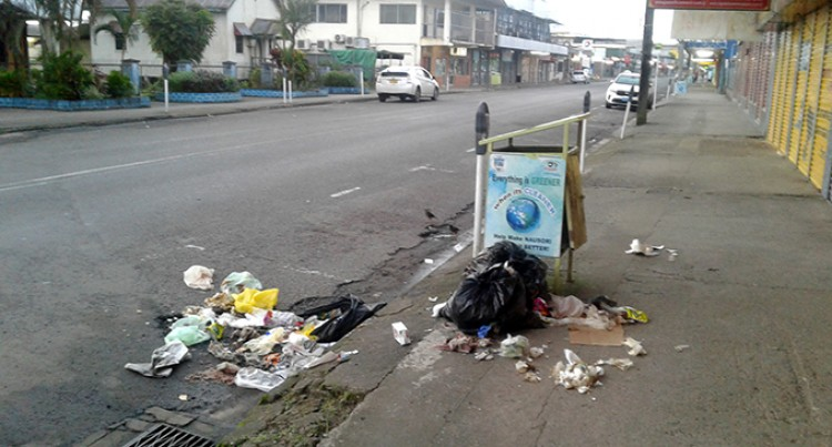Rubbish Problem In Nausori Town