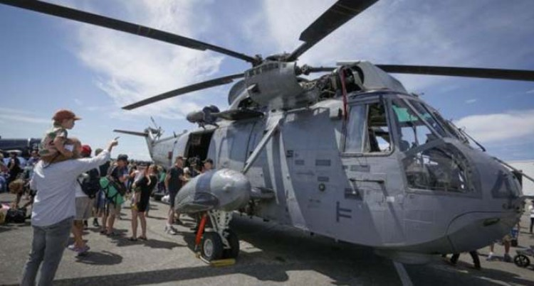 One Dead, 5 Missing In Canadian Military Helicopter Crash Off Greek Coast