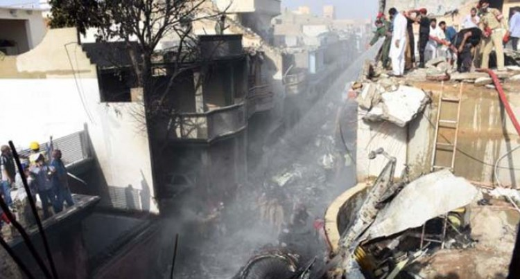 At Least 50 Killed In Passenger Plane Crash In Pakistan's Karachi, 3 Survive