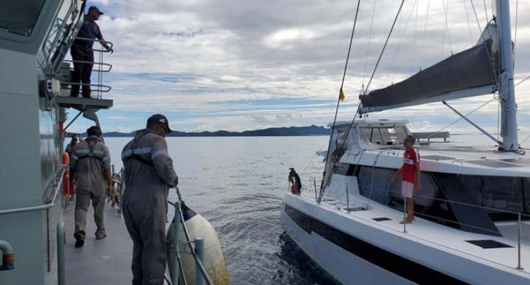 Stranded Singaporean National Rescued By Fiji Navy