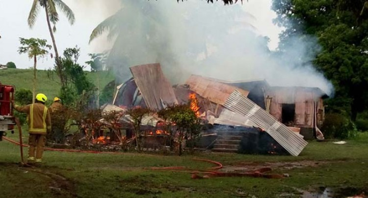 12 Left Homeless After Fire Destroys Home In Navoli, Ba