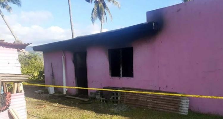 Fire Partly Destroys House In Caulasi, Rakiraki
