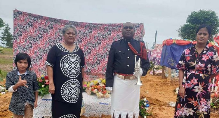 Constable Tolue Alefaio Laid To Rest Thousands Of Kilometres Away From Home