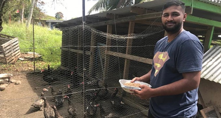 Bulanaire Leans On Poultry Farm To Help His Family