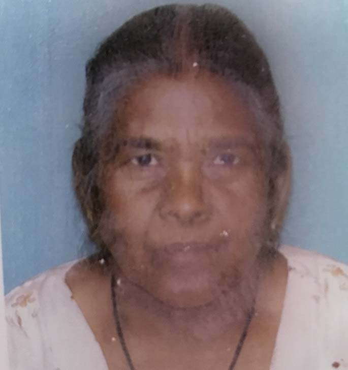 Dharmi was 76.