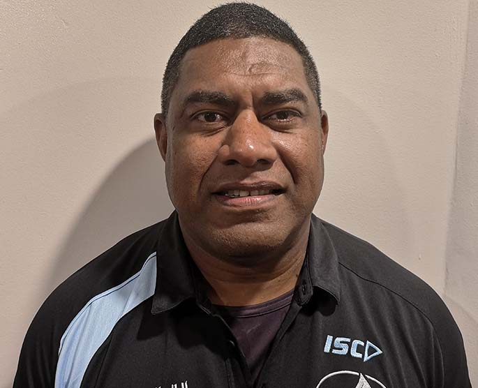 Fiji Airways Fijiana 7s coach Saiyasi Fuli. Photo: FRU