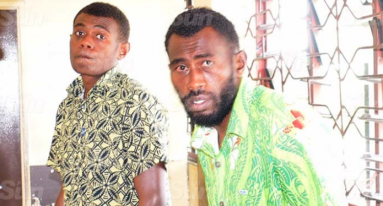 Tailevu Duo Admits Hitting Police Officer On Duty With A Rock
