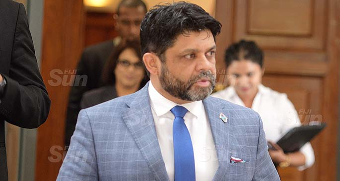 Attorney-General and Minister for Economy Aiyaz Sayed-Khaiyum. Photo: Ronald Kumar