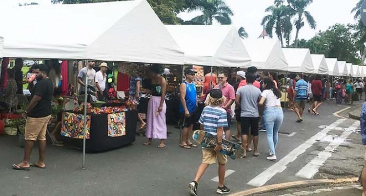 ROC Market Draws Crowd