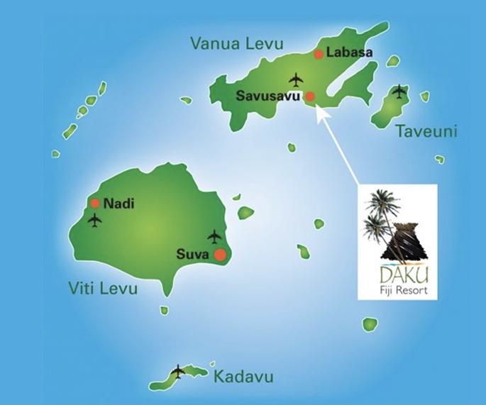 Daku Resort Fiji.