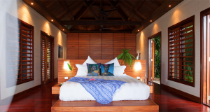A room at the Tavola Villa Stillness Retreat in Savusavu.