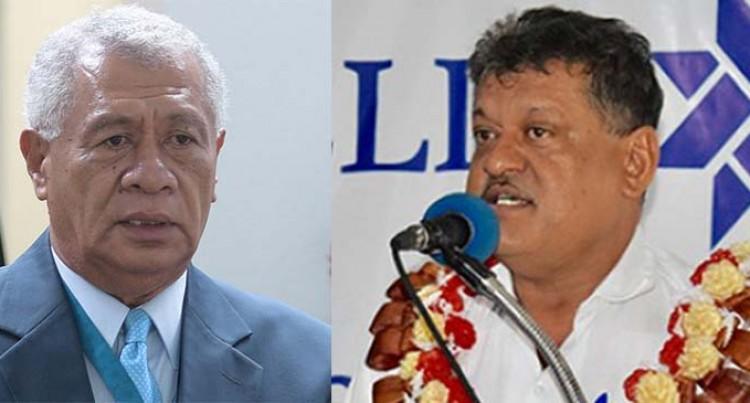 SODELPA Ponders the Choice of President: Anare Jale Or Vijay Singh?