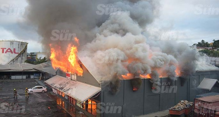 Suva Flea Market, Value City Blaze: Damage Estimate Millions, Kitchen Suspect