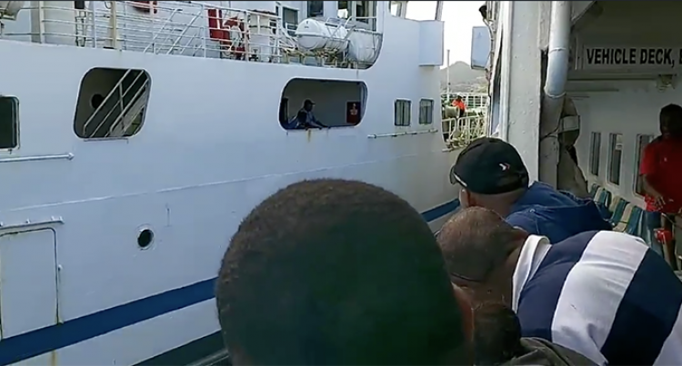 Ferry Battle: Two Ferries Bound For Nabouwalu Miss A Near Clash