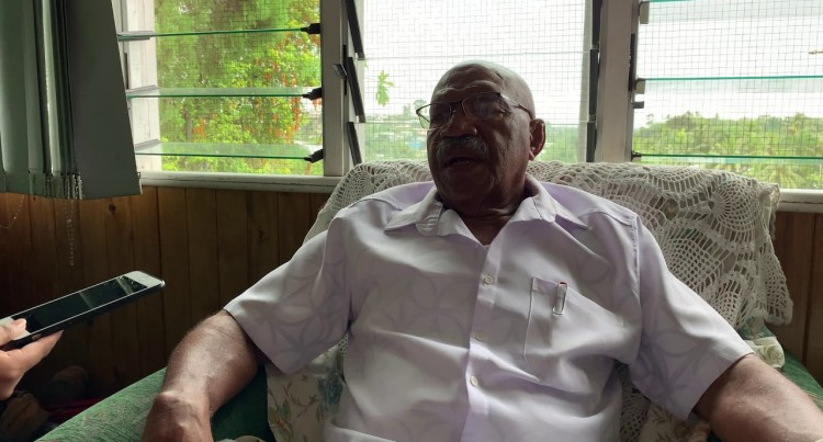 Leader Sitiveni Rabuka Provides An In-Depth Interview On SODELPA Issues