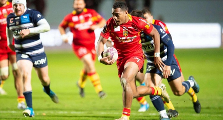 Nauga Seals 2-Year Deal With Perpignan