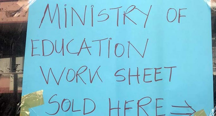 Ministry: Sold Worksheets Not Illegal