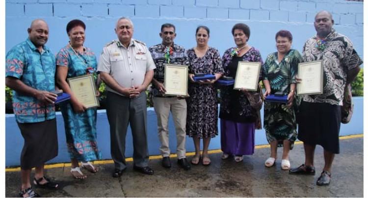 Fiji Corrections Service Farewells Retirees