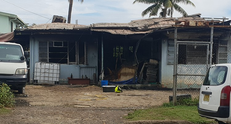 Blaze Robs Lautoka Family Of Their Home