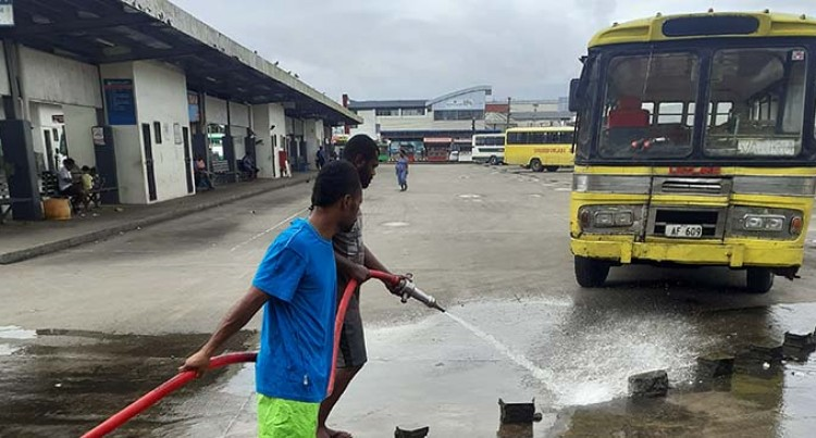 Nausori Bus Stand Gets Clean Look