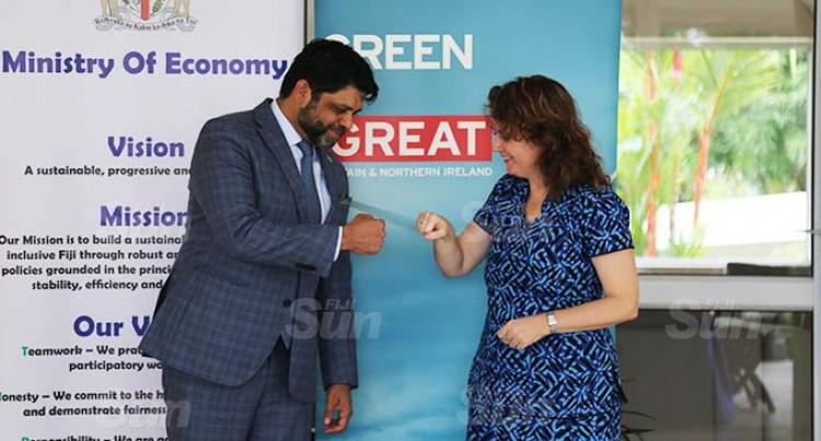 Fiji Welcomes UK's 30by30 Global Ocean Alliance Initiative