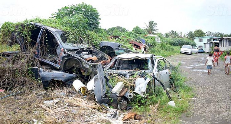 Residents Tell Of Concerns Over Car Wreckage Breeding Criminal Activities