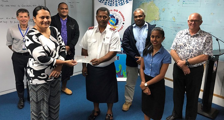 NDMO Receives $5K Donation From Salvation Army