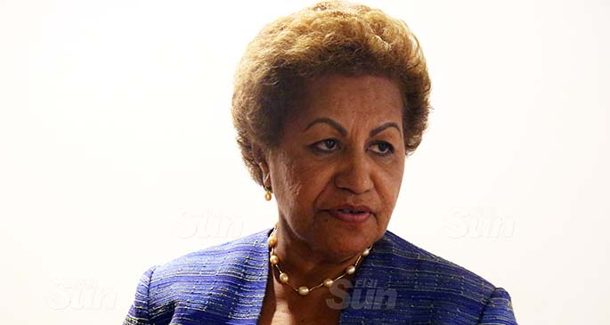 Newly appointed Acting General Secretary of the suspended SODELPA party. Photo: Kelera Sovasiga