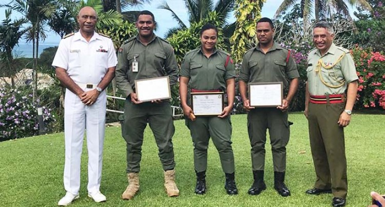 Junior Officers Graduate From New Zealand Cadet School