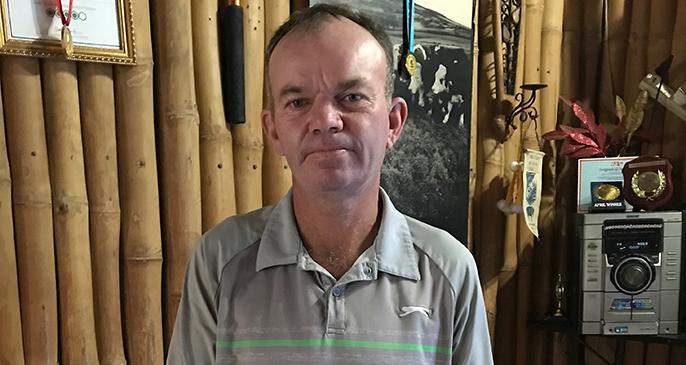 Oasis Restaurant Fiji owner Kevin Vine on June 14, 2020. Photo: Maraia Vula