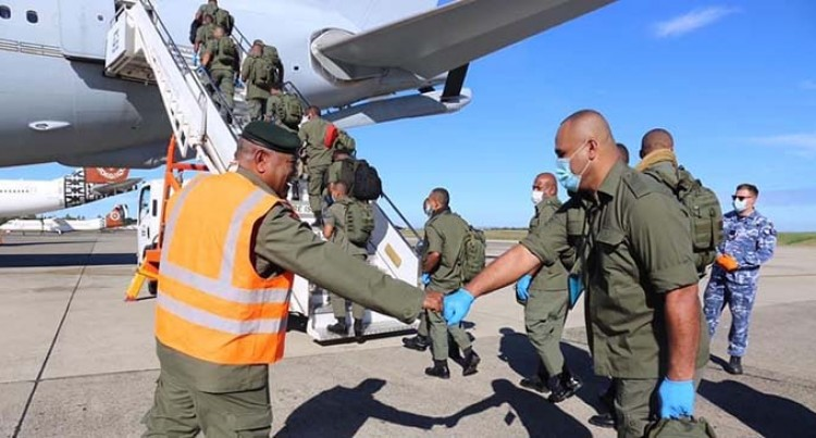 RFMF Troops Head For Sinai Peace Mission