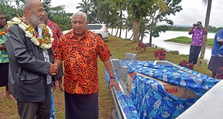 Vuci Women Receive Fibreglass Boat, Engine