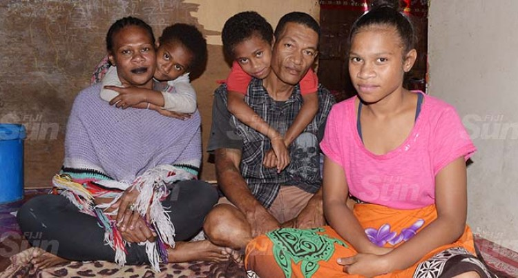 Father Of Six Does Odd Jobs To Feed Family