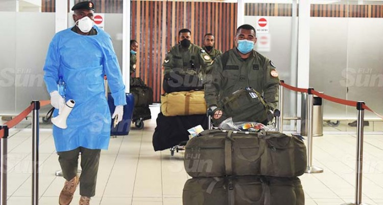 Troops From Sinai Back Home, Go To 14-Day Quarantine