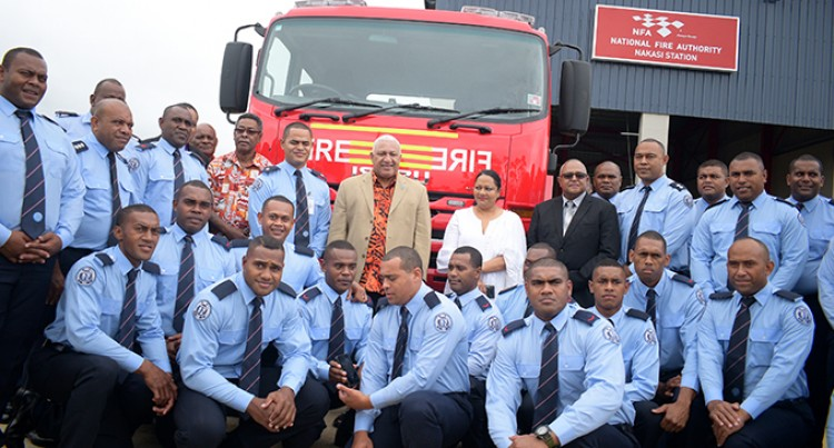 $1.7M Fire Station Opens In Nakasi