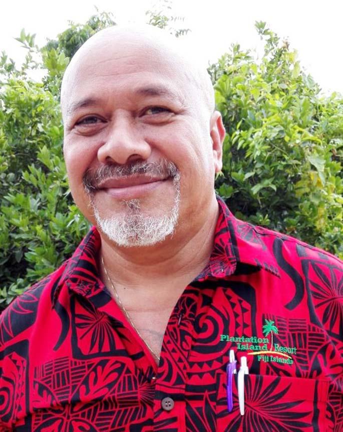 Plantation Island Resort general manager Alex Wilson.