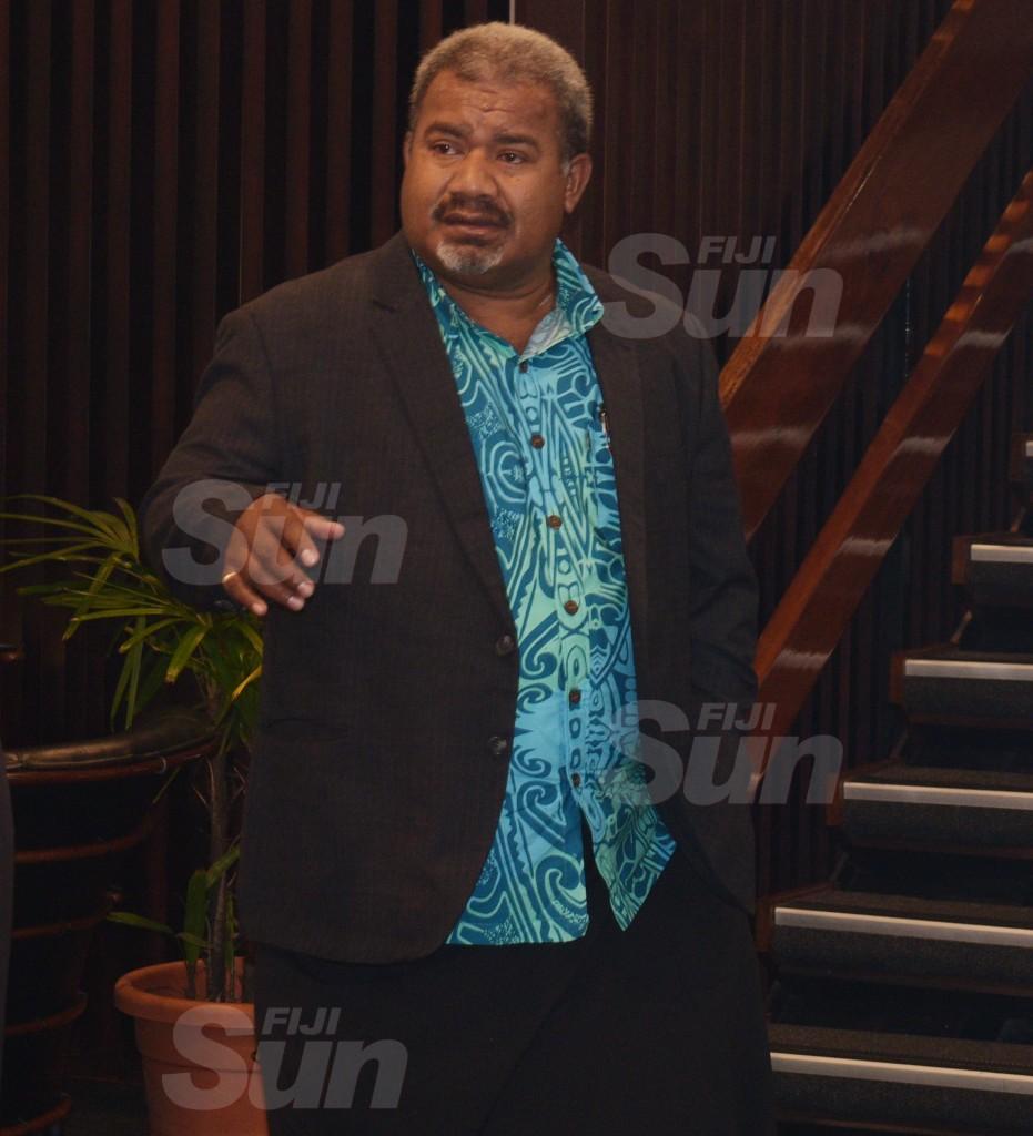 SODELPA member, Jese Saukoro during Party management board meeting at Holiday Inn on June 18, 2020. Photo: Ronald Kumar.