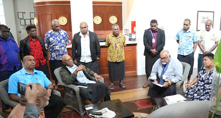 Rabuka Faction Not Ready To Give Up
