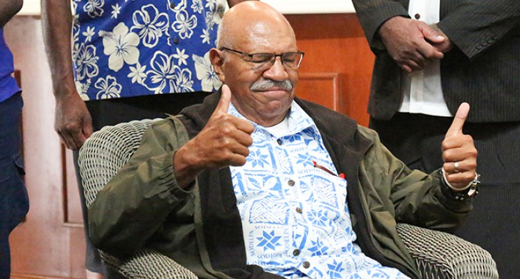 Rabuka Apologises To Veterans
