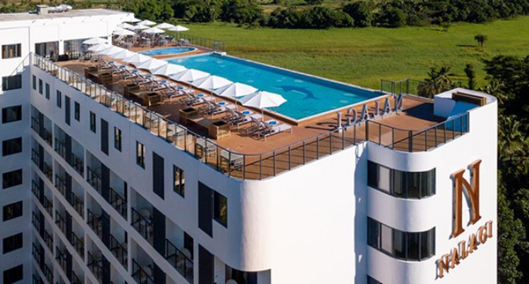 Let's Go Local: Nalagi Hotel's Swimming Pool Gains Attention