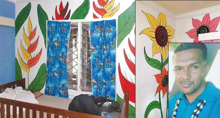 Artist Brightens Up Treasure House Christian Children's Home