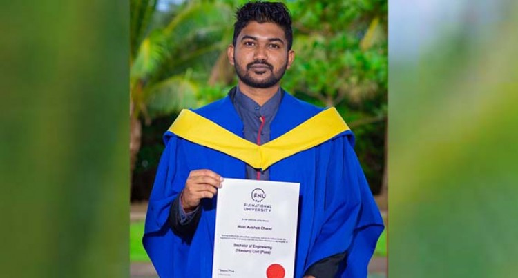 Chand First In His Family With A Degree
