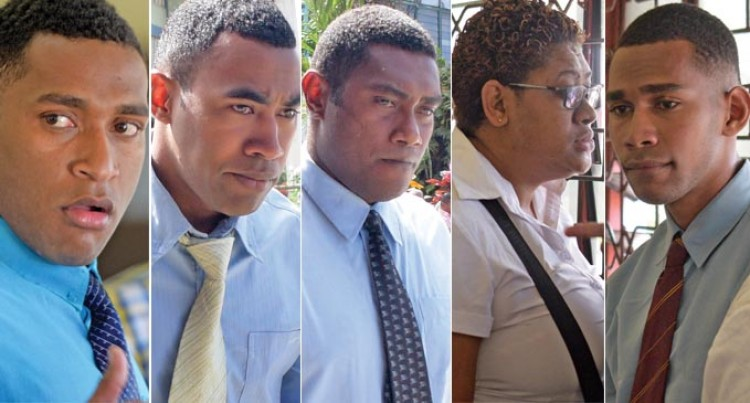 Five Fiji Police Officers Charged With Assault Of Naqia Man Plead Not Guilty